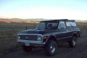 First '72 Blazer